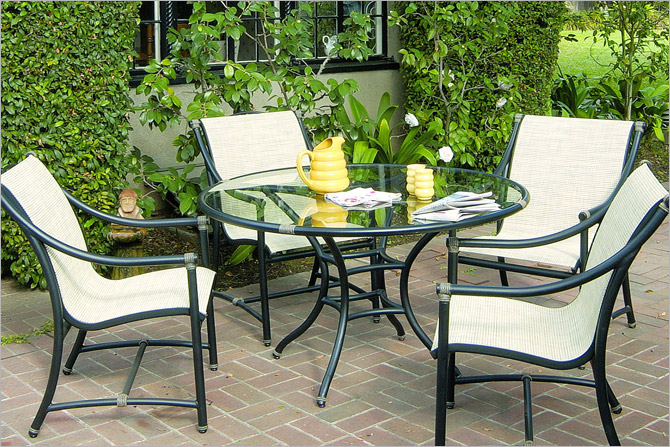 Terra Furniture Patio Casual Outdoor Umbrellas Cast Aluminum